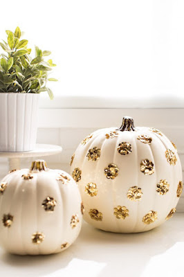 http://sugarandcloth.com/2014/10/diy-sequin-polka-dot-pumpkins/