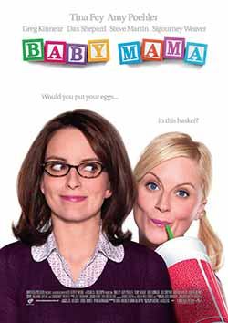 Baby Mama 2008 Hindi Dubbed 300MB BluRay 480p ESubs