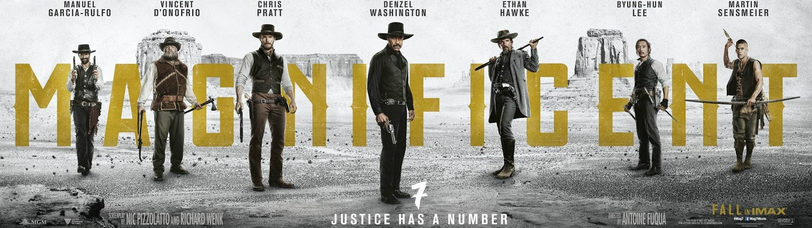 The Magnificent Seven (2016) Banner