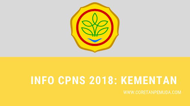 Pengumuman Hasil Tes CAT SKD Kementan CPNS 2018 - Kementerian Pertanian