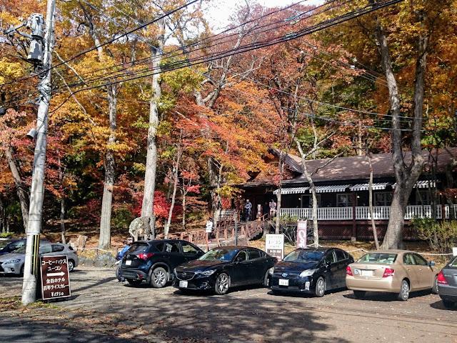 日本ロマンチック街道 金谷ホテル コーヒーハウス ユーコン
