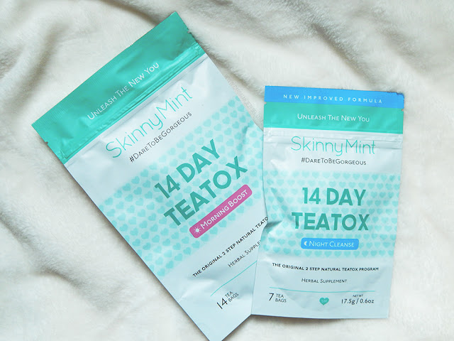 *SkinnyMint 28 Day Teatox Review