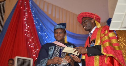 29 YEAR OLD REMILEKUN OREFUNWA EMERGES LASU'S BEST IN THE 2015/2016 CONVOCATION.