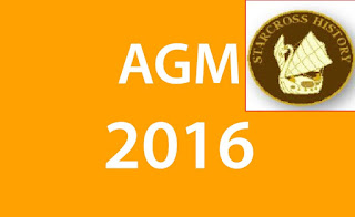 AGM 2016 with the club badge top RHS