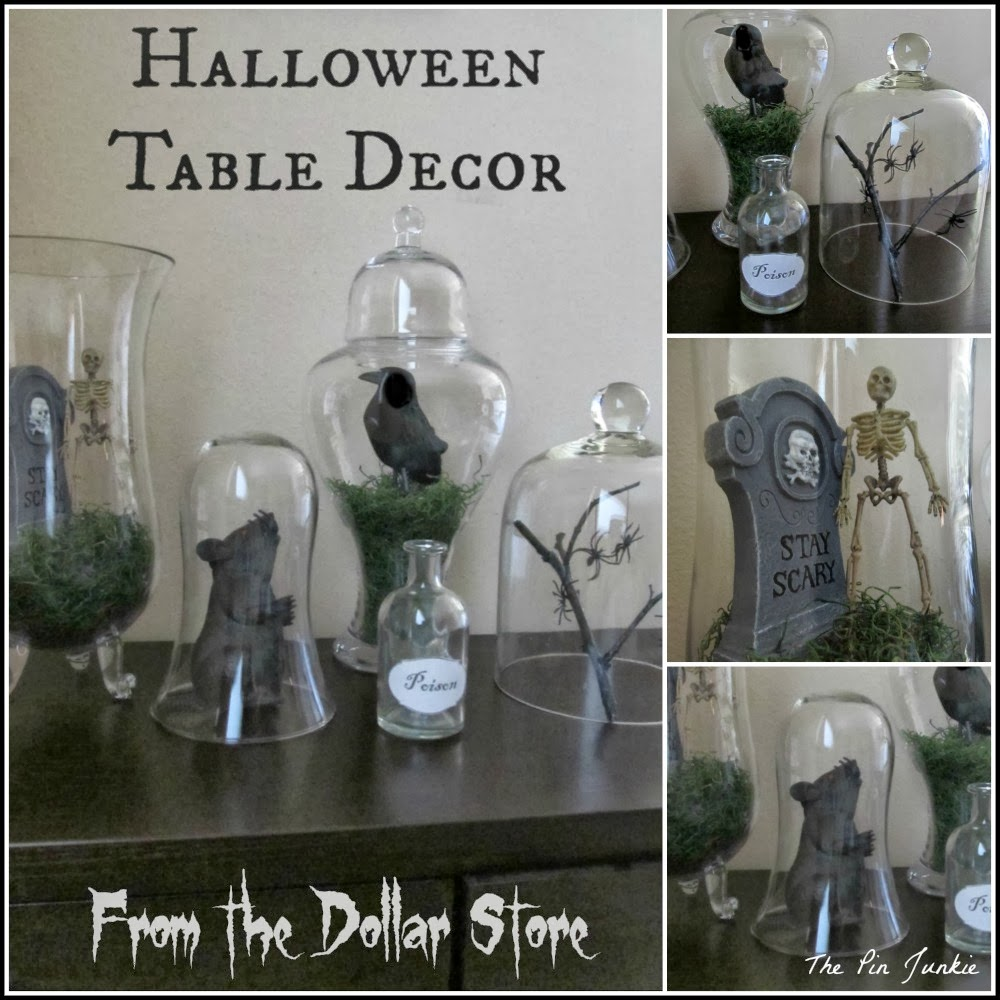 Dollar Store Halloween Decor & Dollar Store Halloween Decor: Tablescape