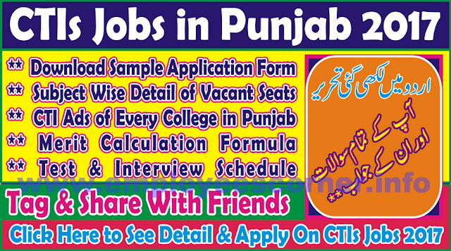 College Teaching Interns Jobs in Punjab 2018
