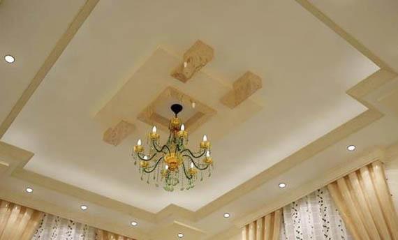 Model Lampu Plafon Gantung Ruang Tamu Mewah
