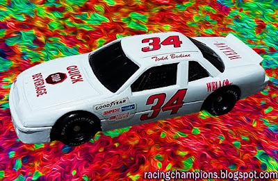 Todd Bodine #34 Quick Stop Beverage Wellco Racing Champions 1/64 NASCAR diecast blog BGN C&W 1991