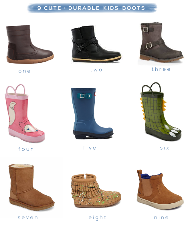 9 Cute (and Durable) Boots for Kids