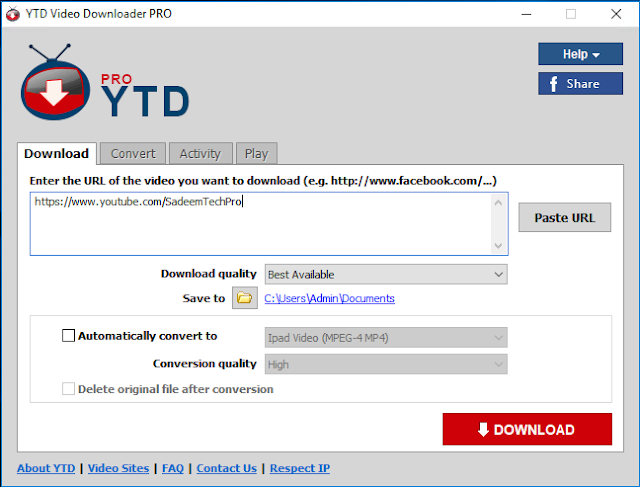 YTD Video Downloader Pro 5.9.7.4