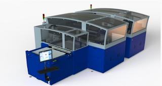 Kornit'ten Fespa Fuarında 16 Kafalı yeni DTG baskı makinesi...