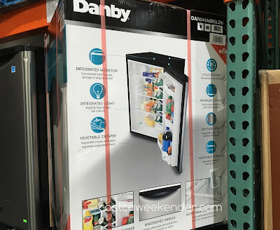 Costco 238121 - Danby DAR044A6BSLDB Compact All Refrigerator - great for drinks in a spare room or the garage