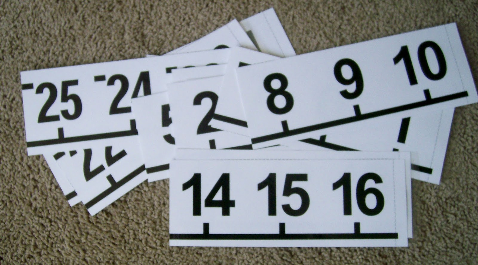 Math Love Made 4 Math Printable Number Line Poster