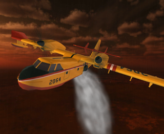 Airplane Firefighter Sim