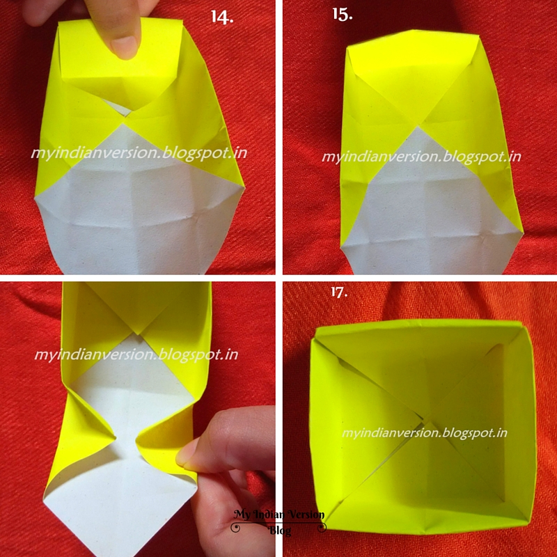 Step14 To Step17 How Make Paper Organizer