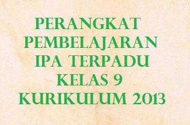 Download Rpp Silabus Prota Prosem Kkm Ipa Terpadu Kelas 9 Kurikulum 2013 Revisi 2019 Kherysuryawan Id