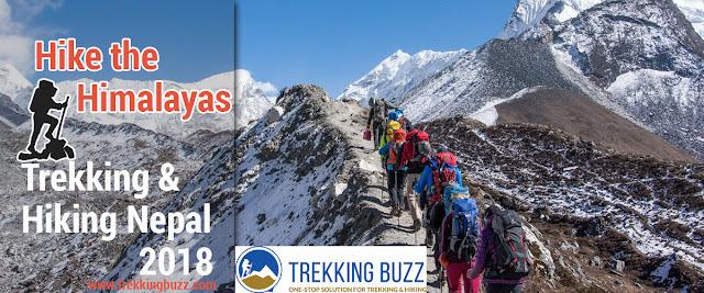 Trekking in Nepal 2018