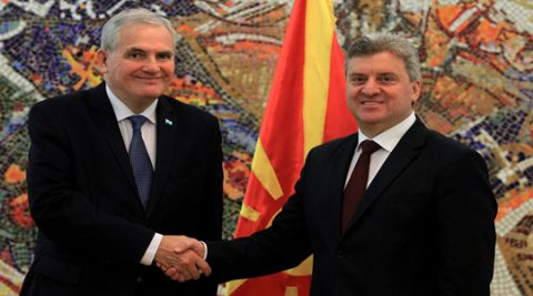 President Ivanov receives credentials of Moldovan and Argentinian ambassadors
