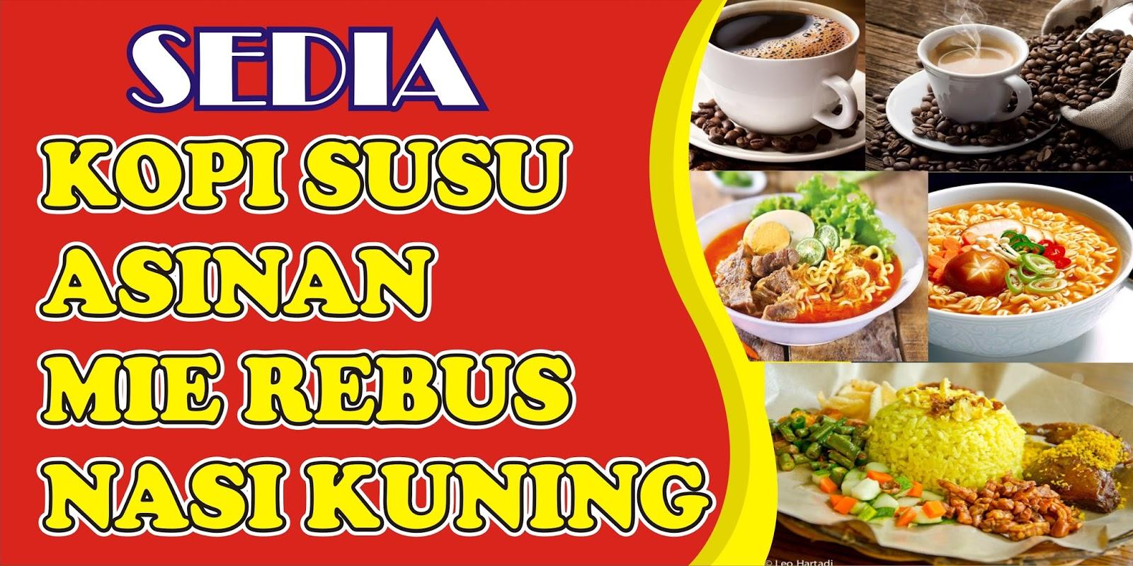 Download Contoh Spanduk Warung Kopi.cdr - KARYAKU