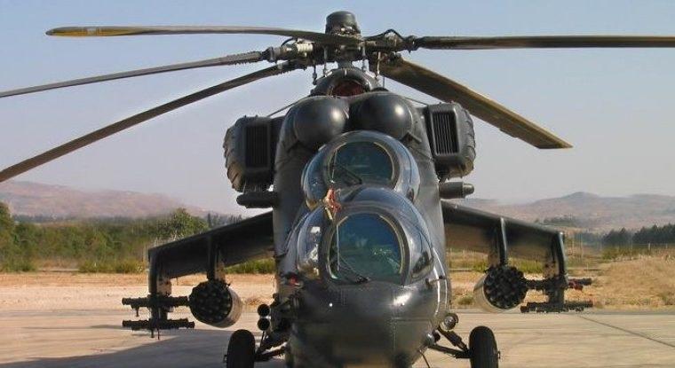 Καθηλωμένα τα 11 επιθετικά ελικόπτερα ΜΙ 35U λόγω έλλειψης ανταλλακτικών