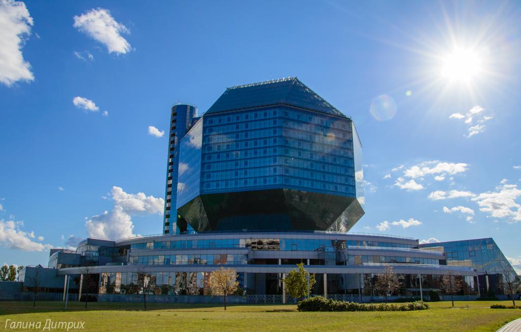 Национальная библиотека Беларуси Минск фото