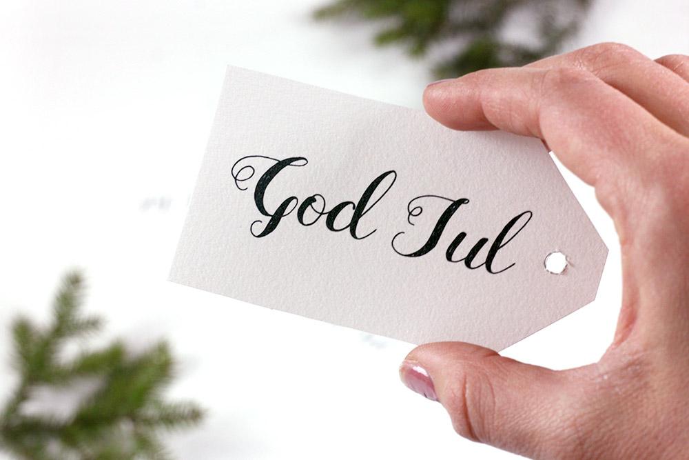 Julkort & etiketter