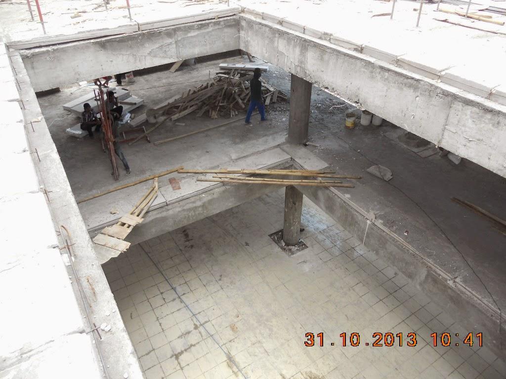 dokumentasi pemasangan panel lantai