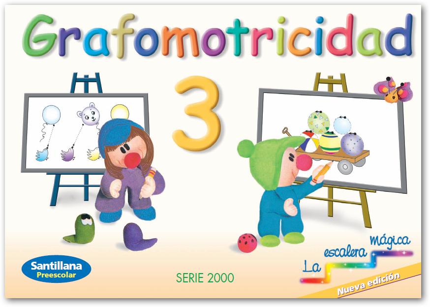 Ubicacion Marcador Logo Material De Imagen Creativo: Grafomotricidad (La Escalera Mágica