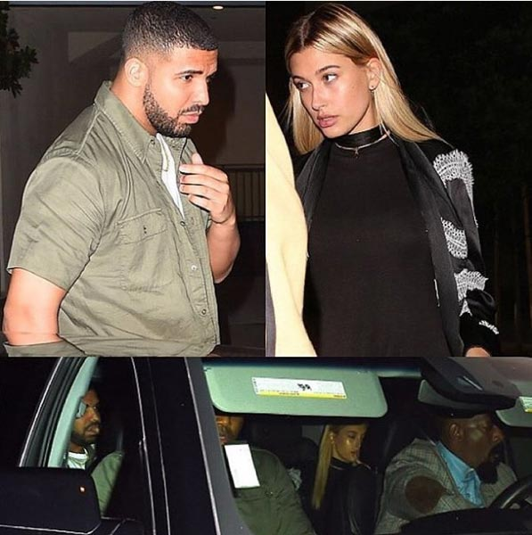 Drake spotted with 19-year-old model Hailey Baldwin