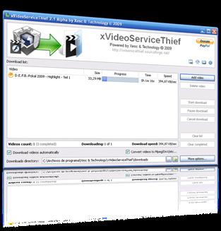 xVideoServiceThief-Δωρεάν προγράμματα για κατέβασμα αρχείων βίντεο
