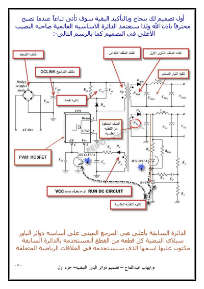 كتاب تصميم دوائر الباور النبضيه SMPS