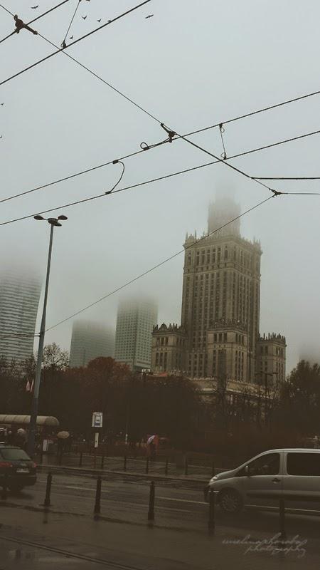 PKiN we mgle, Warszawa, Pałak Kultury we mgle