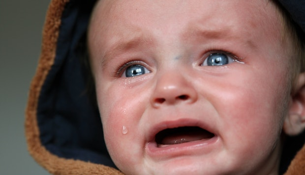 Penyebab Bayi Menangis dan Gelisah