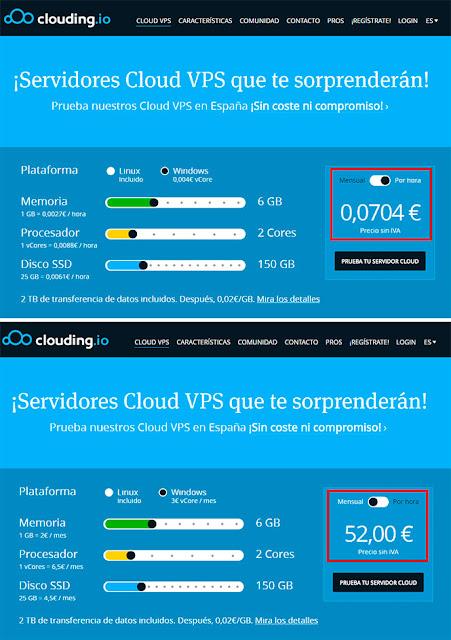 Clouding.io: Formulario.