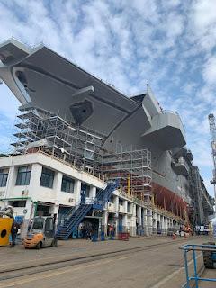 Marina Militare: visita allo stabilimento di Castellammare di Stabia