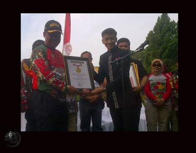 SUGAT pecahkan rekor MURI di HUT Kabupaten Subang Ke-68, Tahun 2016