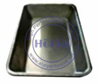 Loyang aluminium nampan karet