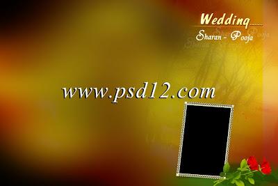 Wedding Album Background (PSD File)
