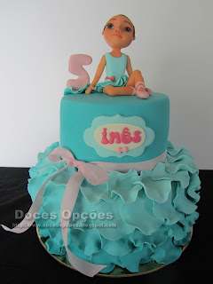 ballet dancer birthday cake