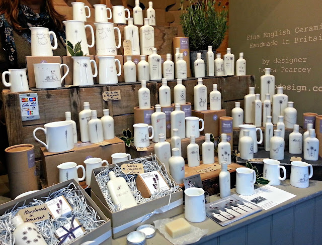 Stall featuring ceramics from Boop Designs