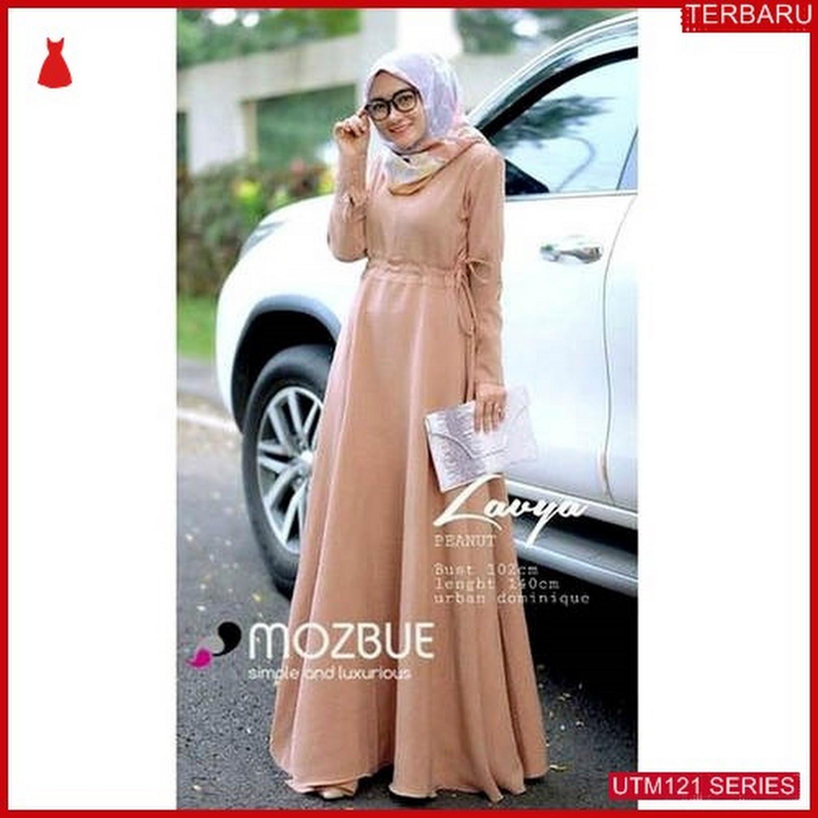 UTM121L60 Baju Lavya Muslim Model Maxi Dewasa Keren Murah