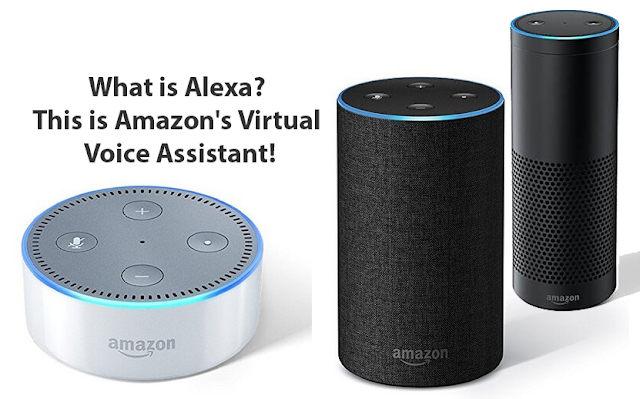 What is Alexa? This is Amazon's Virtual Voice Assistant!