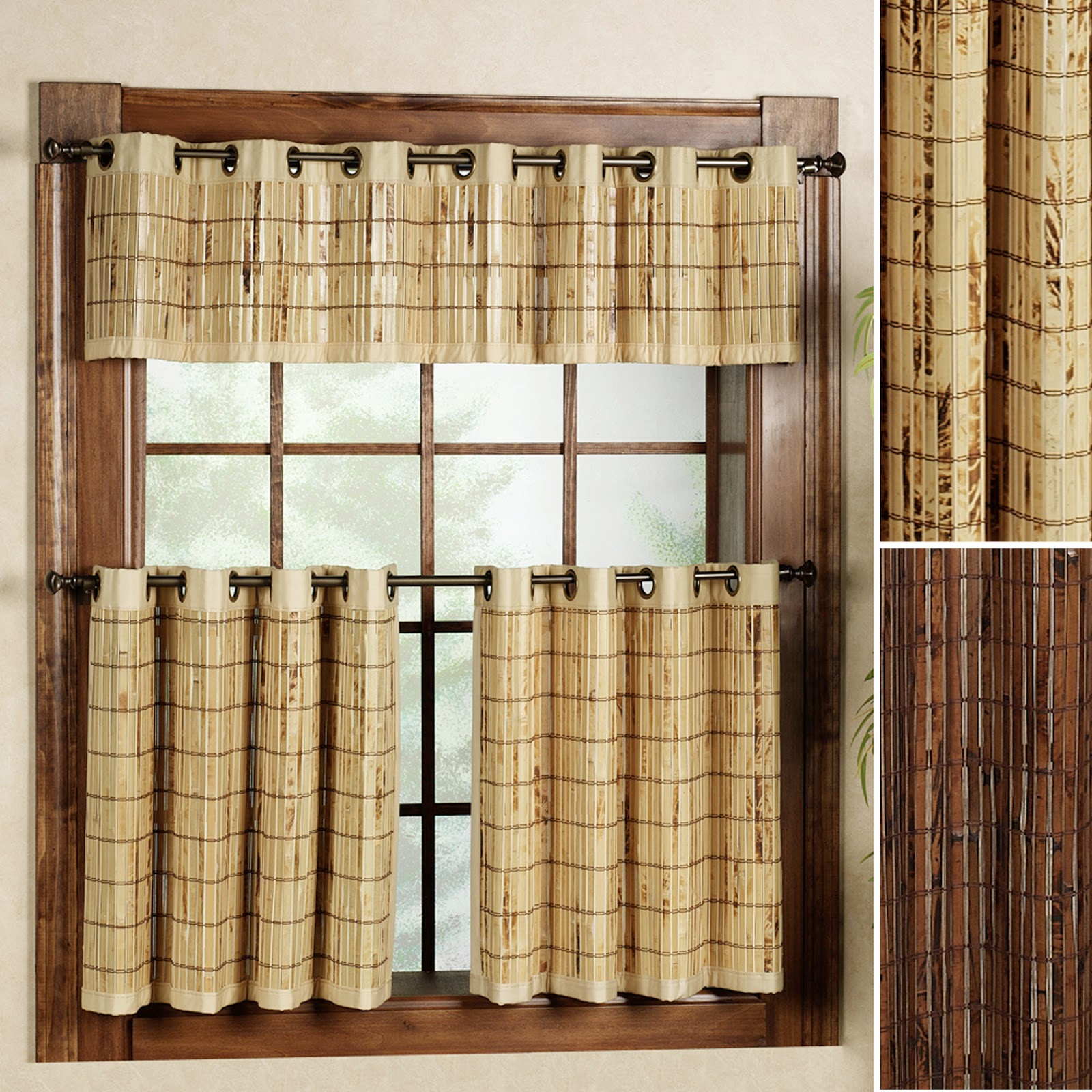 Bamboo Kitchen Curtains: Bamboo Worktops Photos: Bamboo Window Treatments