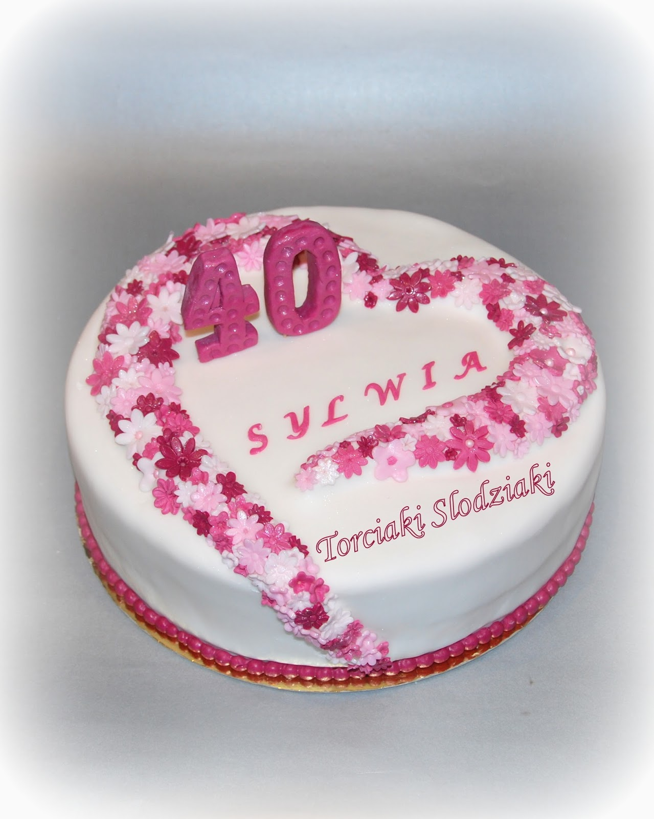 Torty Z Artystyczna Dusza Torciaki Slodziaki Tort Na 40