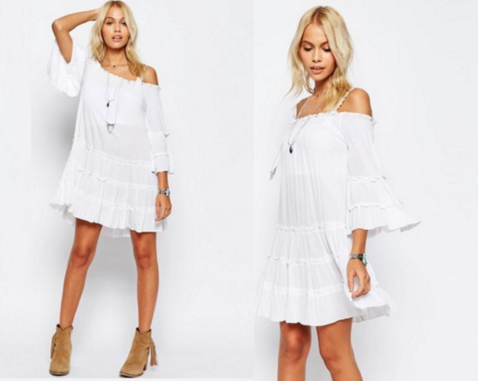 Off shoulder dresses for Summer, Off shoulder dress, How to wear off shoulder dresses
