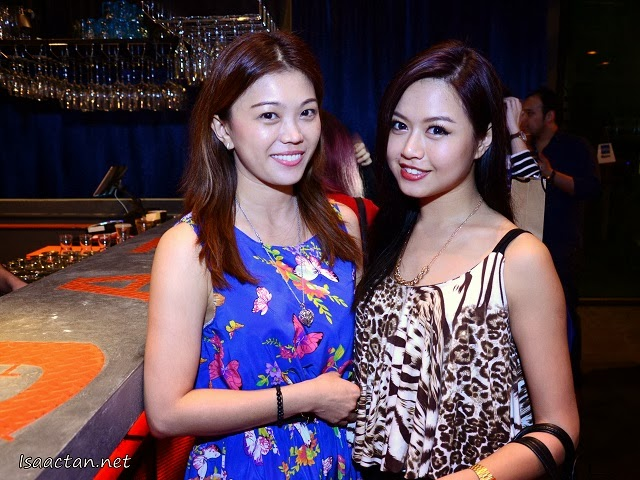 Friends and bloggers, Kelly Chin and Audrey Loke