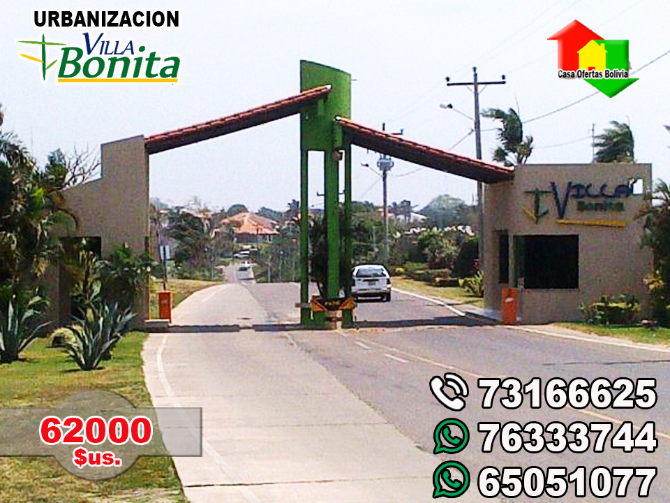 Casa ofertas bolivia urbanizacion villa bonita urubo for Villa bonita residencial