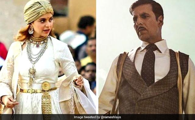 Padman Box Office Clash: Akshay Kumar's 'Gold' can hit Kangana's 'Manikarnika'