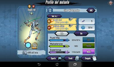 Mutants: Genetic Gladiators Breeding video N°130 (Android - Warrior)