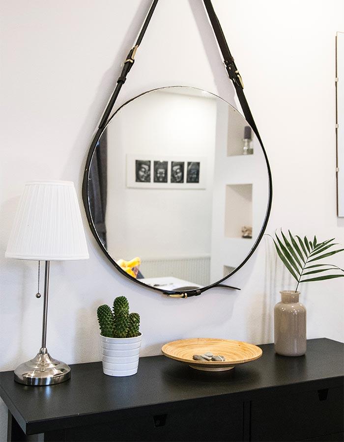 Decoração minimalista com objetos pequenos e simples